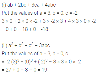 Class 6 ML Aggarwal Solutions Chapter 9 Algebra Check Your Progress