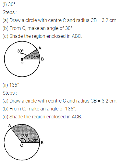 ML Aggarwal Class 8 Solutions for ICSE Maths Chapter 15 Circle Check Your Progress Q2
