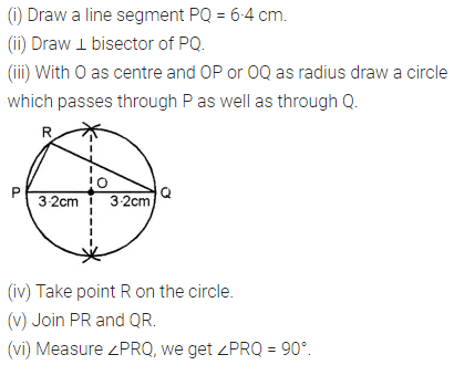ML Aggarwal Class 8 Solutions for ICSE Maths Chapter 15 Circle Check Your Progress Q3