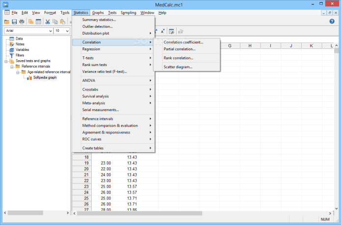 working with MedCalc 19.0.7 full license