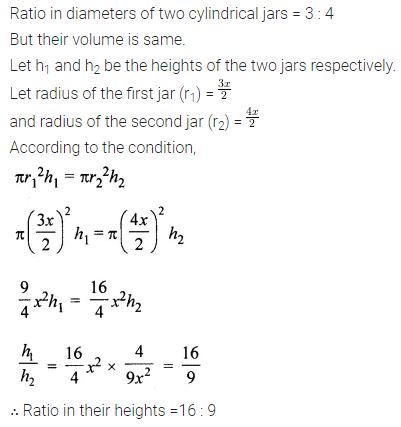 ML Aggarwal Class 8 Solutions for ICSE Maths Chapter 18 Mensuration Ex 18.3 Q9