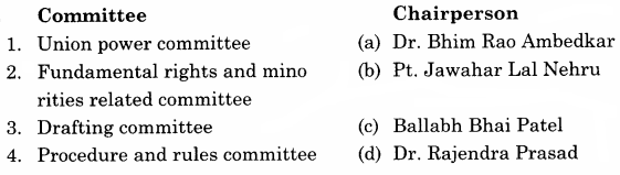 RBSE Solutions for Class 11 Political Science Chapter 22 Important Personalities of National Movement in India and Their Contribution in Political Contemplation