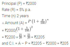 ML Aggarwal Class 8 Solutions for ICSE Maths Model Question Paper 2 Q5