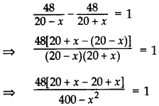Important Questions for Class 10 Maths Chapter 4 Quadratic Equations 50