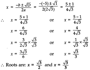 Important Questions for Class 10 Maths Chapter 4 Quadratic Equations 11