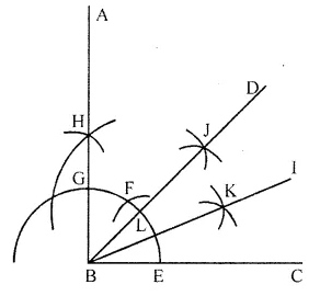 ML Aggarwal Class 6 Solution Chapter 13 Practical Geometry Ex 13.3
