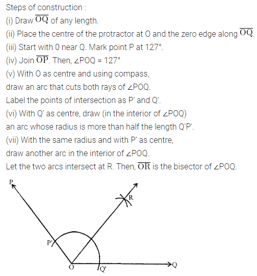 Ml Aggarwal Class 6 ICSE Solutions Chapter 13 Practical Geometry Ex 13.3