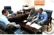 مؤسسة الشعانبة في لقاء مع السيد مدير الأشغال العمومية لولاية غارداية