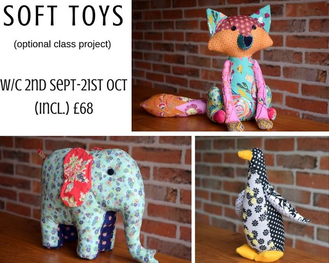 soft toys class project
