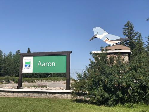 Aaron - sign