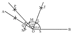 ICSE Class 6 Maths Worksheets Chapter 13 Practical Geometry Check Your Progress