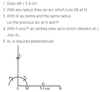 apc Maths Class 6 Solutions PDF Chapter 13 Practical Geometry Check Your Progress