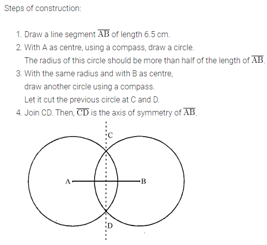 ICSE Understanding Mathematics Class 6 ML Aggarwal Solutions Chapter 13 Practical Geometry Check Your Progress