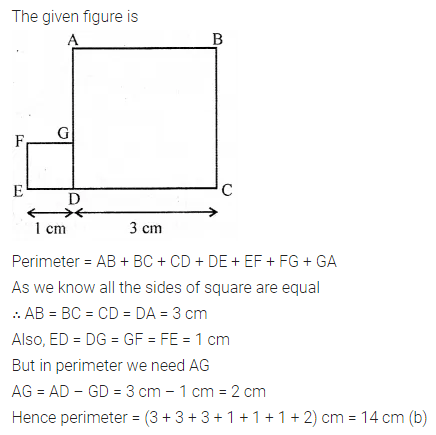 New Learning Mathematics Class 6 Solutions Chapter 14 Mensuration Objective Type Questions