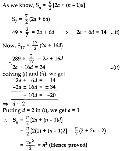 Important Questions for Class 10 Maths Chapter 5 Arithmetic Progressions 12