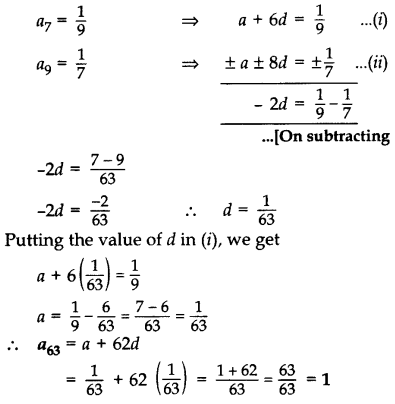Important Questions for Class 10 Maths Chapter 5 Arithmetic Progressions 9