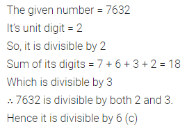 ML Aggarwal Class 6 Solutions for ICSE Maths Model Question Paper 3 Q6