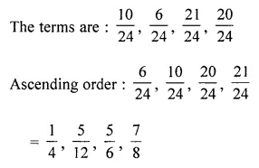ML Aggarwal Class 6 Solutions for ICSE Maths Model Question Paper 3 Q20.1