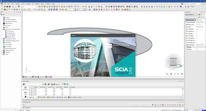 Working with Nemetschek SCIA Engineer 2019 full license