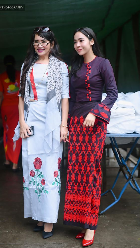 Burma clothes designs
