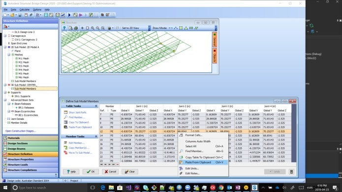 Working with Autodesk Structural Bridge Design 2019.2 full license