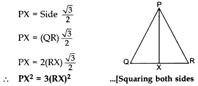 Important Questions for Class 10 Maths Chapter 6 Triangles 13