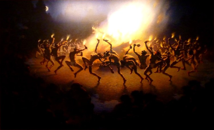 Navajo Fire Dance by William Robinson Leigh