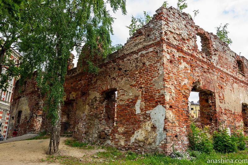 Руины Кафедрального собора Выборга