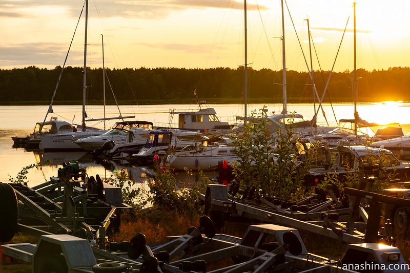 """Финский залив, база отдыха """"Окуневая"""", Балтийское море, яхт-клуб"""