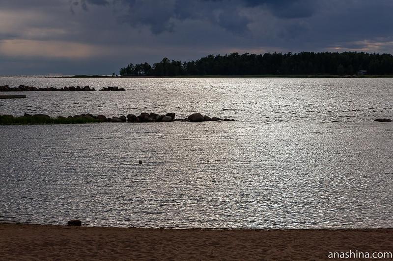 """Финский залив, база отдыха """"Окуневая"""", Балтийское море"""