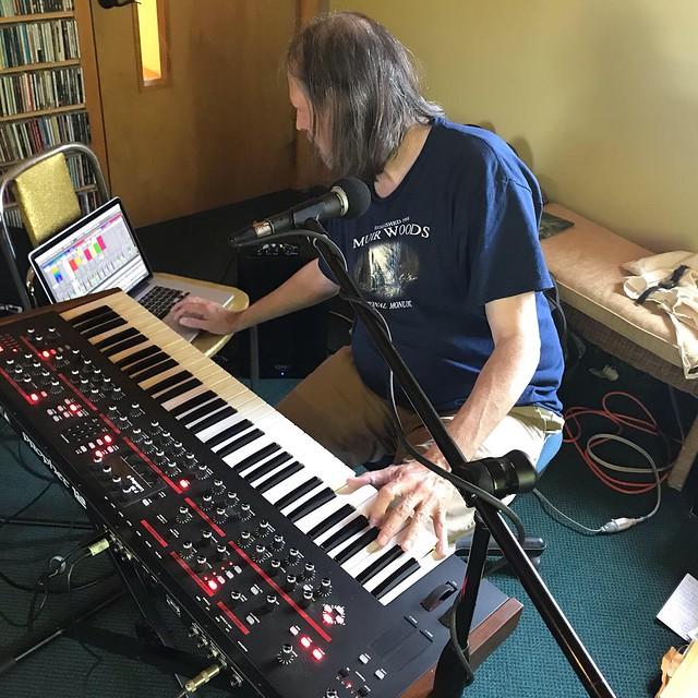 Back at WKZE Studios