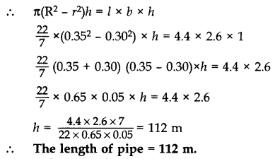 Important Questions for Class 10 Maths Chapter 13 Surface Areas and Volumes 79
