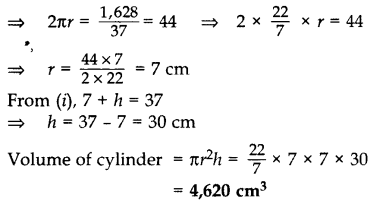 Important Questions for Class 10 Maths Chapter 13 Surface Areas and Volumes 7