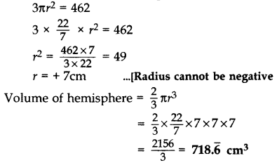Important Questions for Class 10 Maths Chapter 13 Surface Areas and Volumes 4