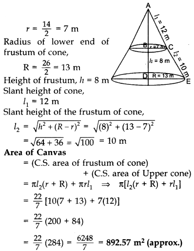 Important Questions for Class 10 Maths Chapter 13 Surface Areas and Volumes 68