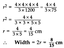 Important Questions for Class 10 Maths Chapter 13 Surface Areas and Volumes 40