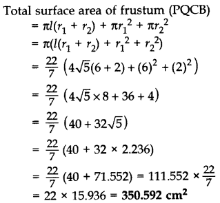 Important Questions for Class 10 Maths Chapter 13 Surface Areas and Volumes 31