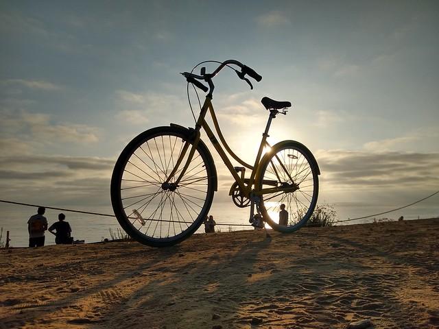 Beach Cruiser at Sunset Cliffs