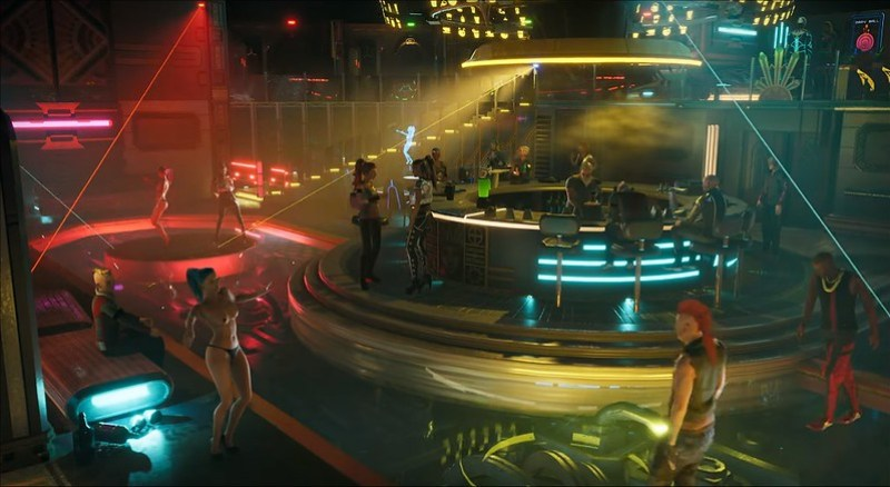 Gamedec - Strip Club