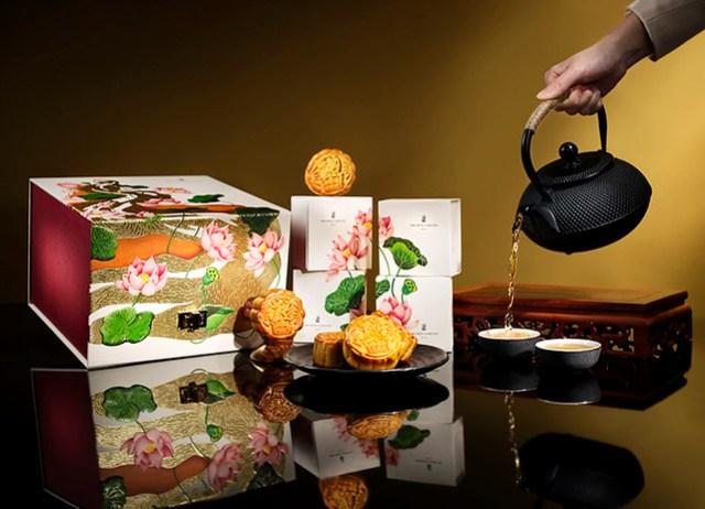 澳門麗思卡爾頓酒店 ─「花中麗月」尊貴月餅禮盒