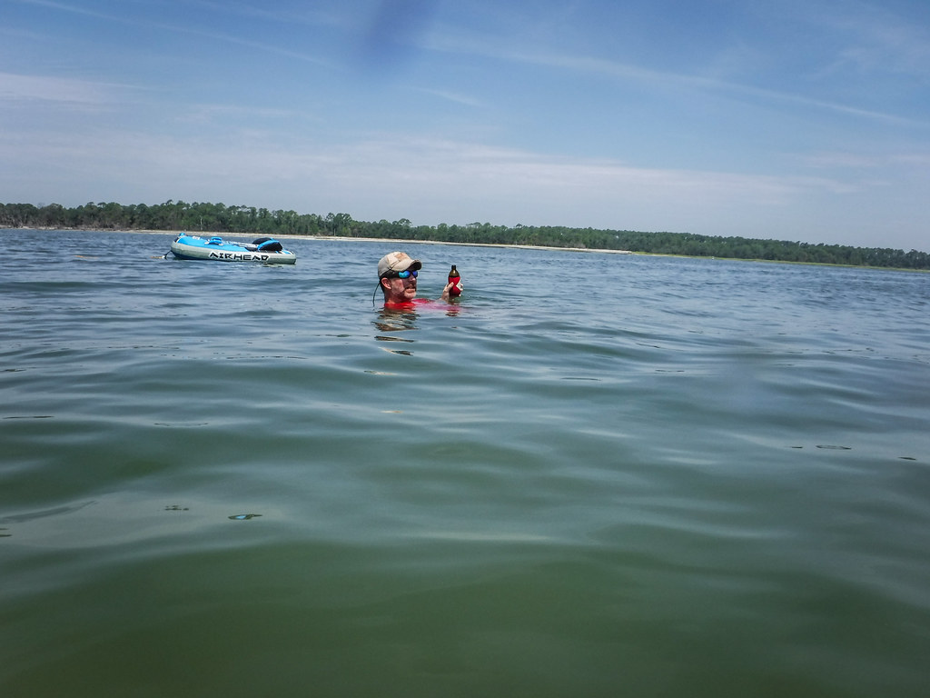 Station Creek Falls to Capers Island with LCU-134