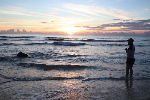 屏東小琉球:花瓶岩、杉福漁港、蛤板灣