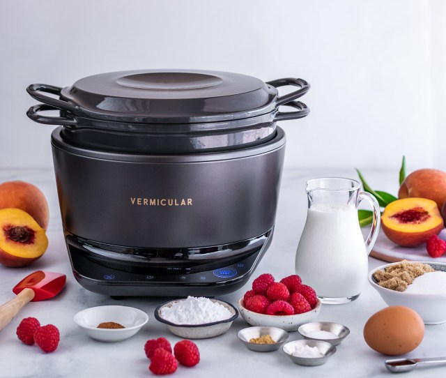 using the Vermicular Musui-Kamado makes the process easy and quick
