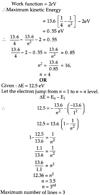 CBSE Previous Year Question Papers Class 12 Physics 2019 Outside Delhi 14