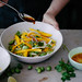 green mango and cucamelon salad