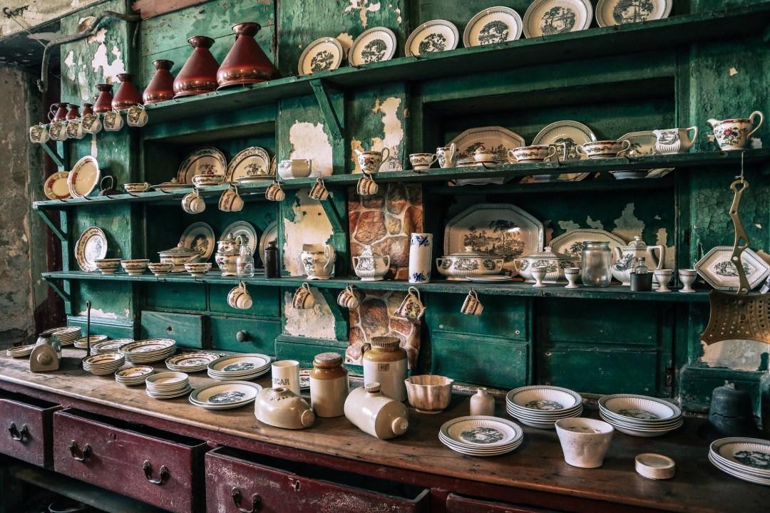 Lissadell House, cucine