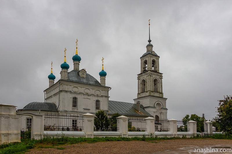 Церковь Рождества Пресвятой Богородицы в Городище, Клещин, Переславль-Залесский
