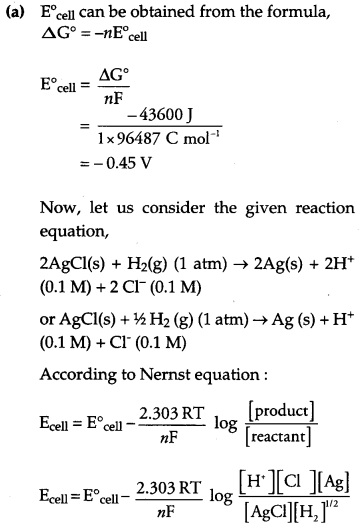CBSE Previous Year Question Papers Class 12 Chemistry 2018 Q25.1