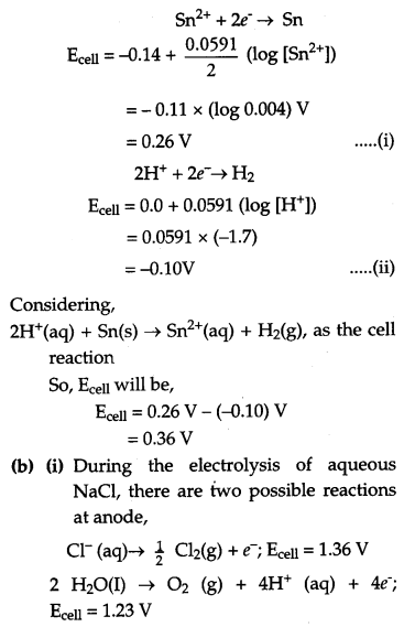 CBSE Previous Year Question Papers Class 12 Chemistry 2018 Q25
