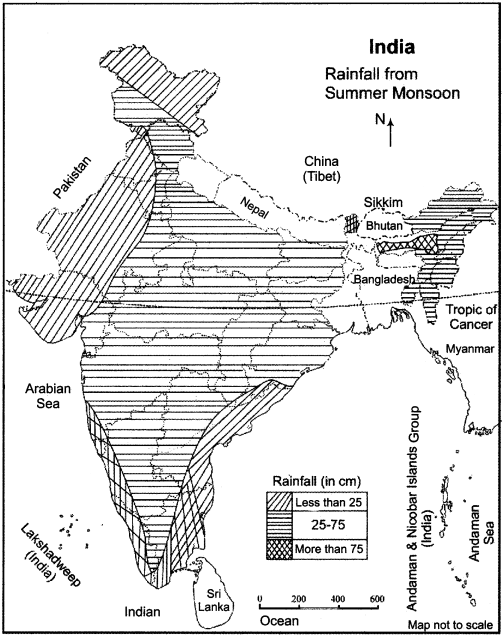 RBSE Solutions for Class 11 Indian Geography Chapter 6 Climate of India 3